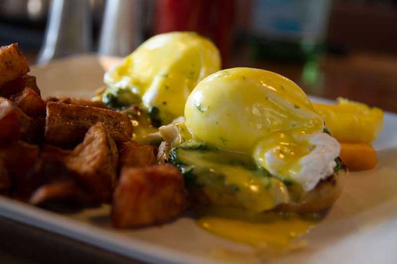 Brunch: Eggs Florentine
